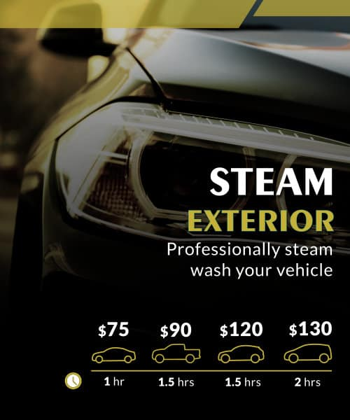 STEAM EXTERIOR DETAILING
